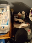 My Cluttered Bedside