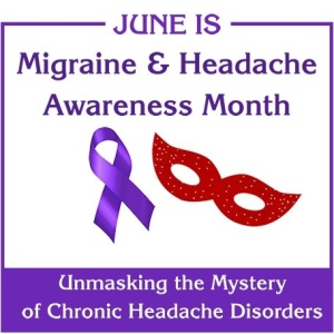 June Migraine awareness month